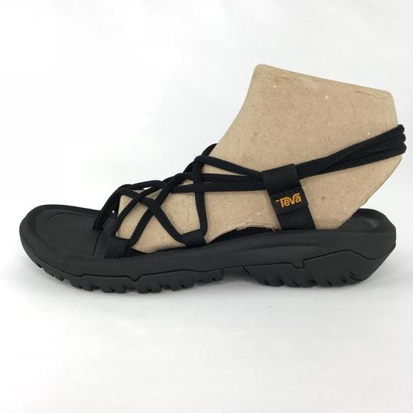 a62d4391214b Teva Hurricane XLT Infinity Black Sandals Size 8